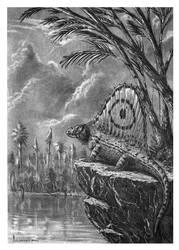 Dimetrodon grandis by dustdevil