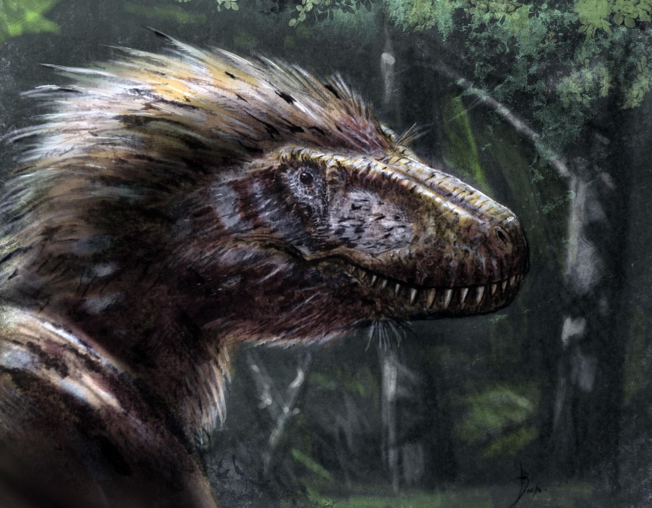 Tyrannosaurus rex by dustdevil