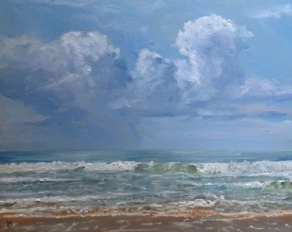 Saint Gilles Beach France by dustdevil