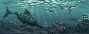 Jurassic sea by dustdevil