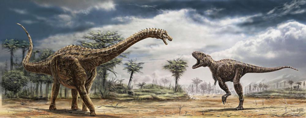 Ampelosaurus and Tarascosaurus