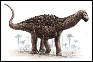 Saltasaurus by dustdevil