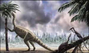 Plateosaurus by dustdevil
