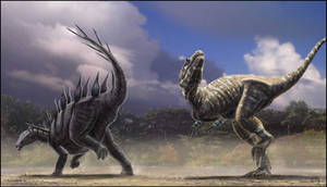 Lexovisaurus vs Allosaurus