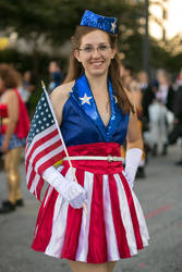 Captain America - Dancing Girl