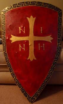 Byzantine Inspired Heraldic Shield