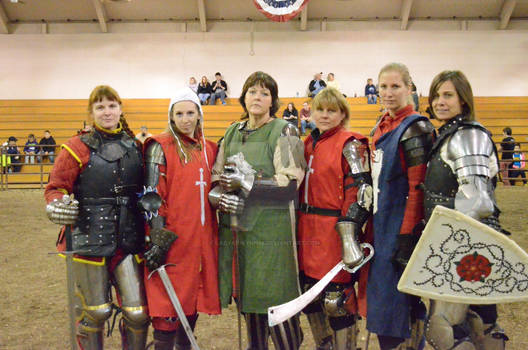 Women of the Armored Combat League