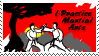 Stamp: I practice martial arts by Jammerlee