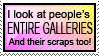 Stamp: Gallery browser by Jammerlee