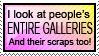 Stamp: Gallery browser by Jammerlee