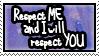 Stamp: Respect