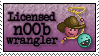 Stamp: [Request] Licensed n00b wrangler by Jammerlee