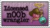 Stamp: [Request] Licensed n00b wrangler by Jammerlee
