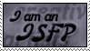 Stamp: I am an ISFP by Jammerlee