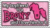 Stamp: [Request] Boyfriend is a Brony by Jammerlee
