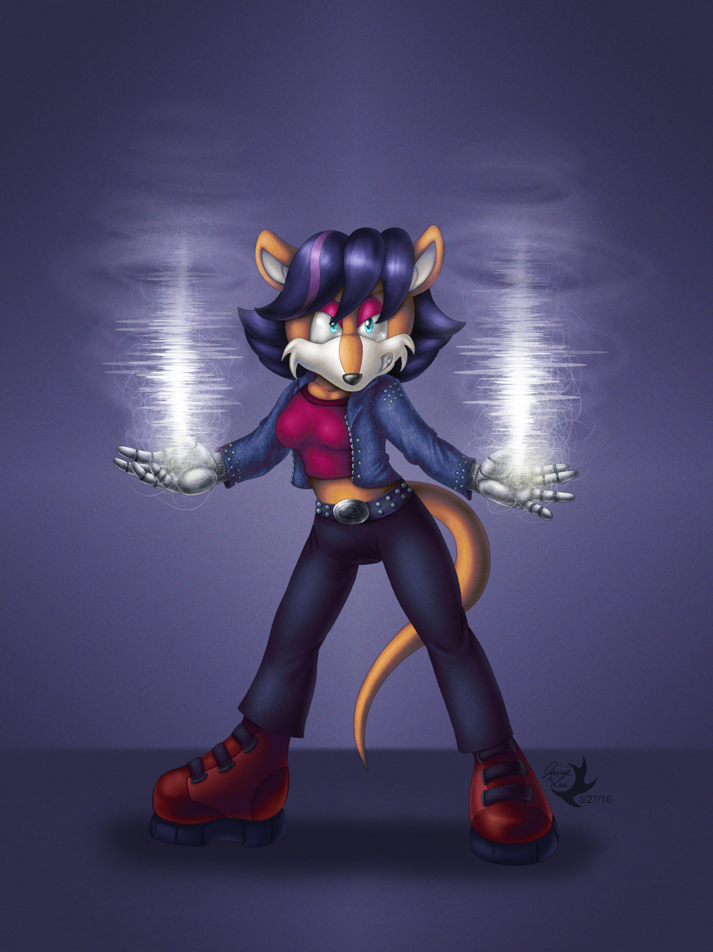 Commission: Shiv the Bandicoot by Jammerlee