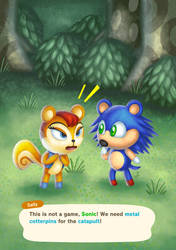 This is not a game, Sonic!
