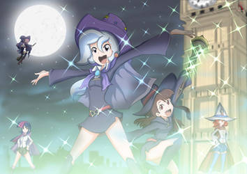 My little witch academia by RYURED
