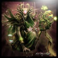 Woodelf -world of warcraft- by IBgrafiX