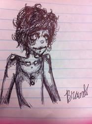My pen sketch by Giantcritic