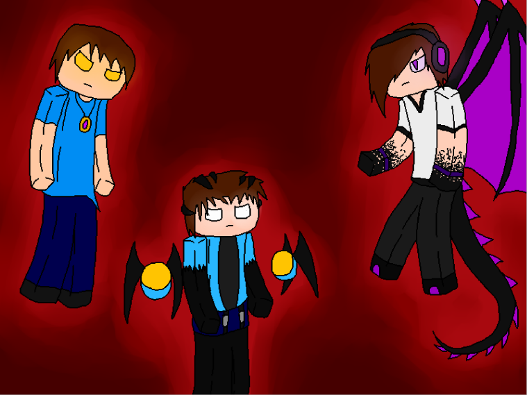 Enderlox,Skybrine and WitherMU by lifewatery on DeviantArt
