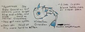 Winter/Snow Guardians(Open Species)