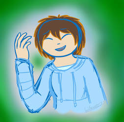 A random colored sketch