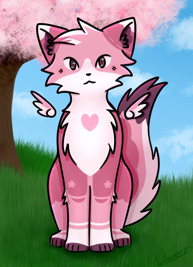 Sakura | Artfight2020 #4