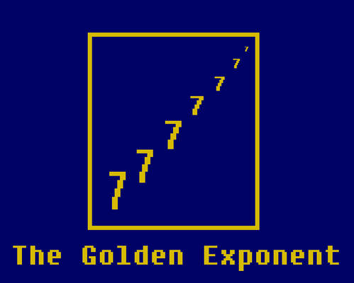 The Golden Exponent