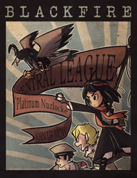BlackFire: Platinum Nuzlocke ~Cover~ by Carminadelic