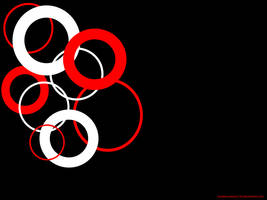 Black Red n White Wallpaper by cluelesscomedy123