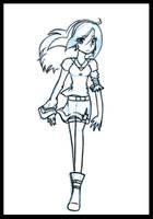 Allie Sketchlez 2 by cluelesscomedy123