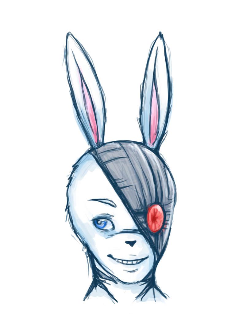 Cobalt Rabbit by cluelesscomedy123