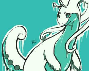 Goodra doodle