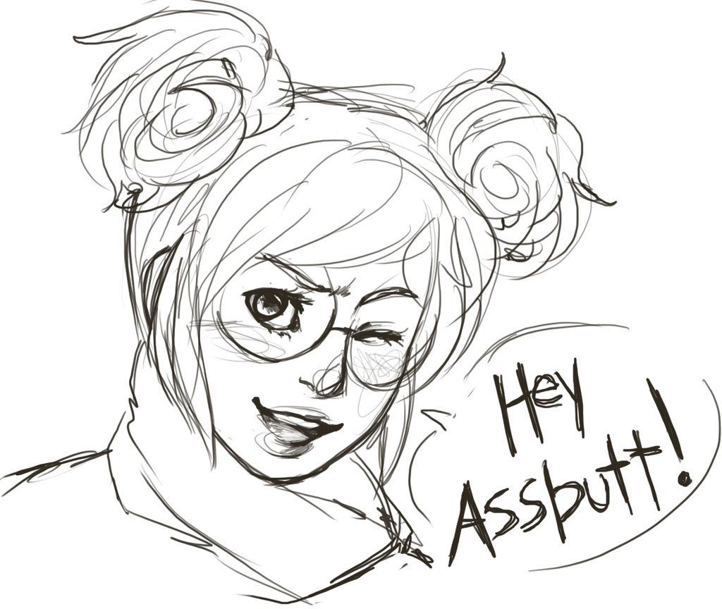 [S] Hey Assbutt! by cluelesscomedy123