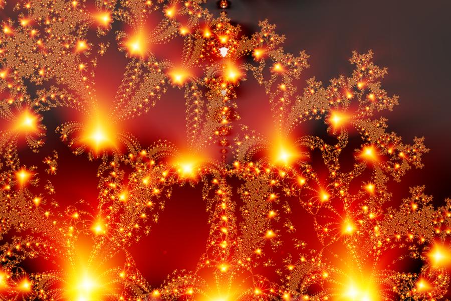Happy New Year 2018 fireworks by BGai