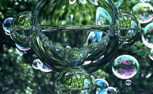 Bubbles Reflected by BGai