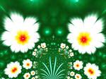 White flowers for the garden by BGai