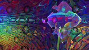 Crazy Coloured Crazy Fractal