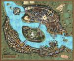 Feyerlun-Fantasy City Map