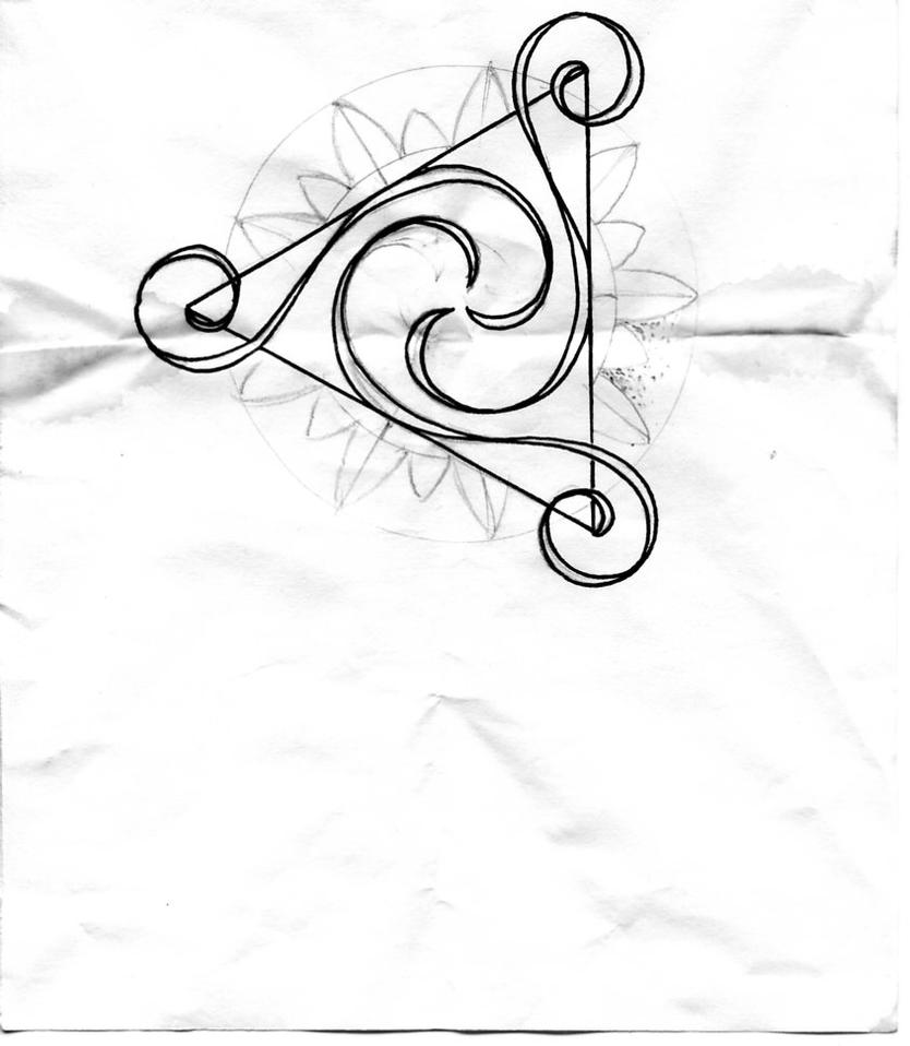 Triskelion tattoo by ice232