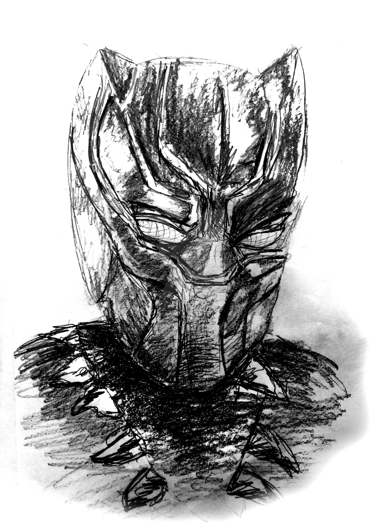 Black Panther Pencil Sketch By Sattwikroy On DeviantArt