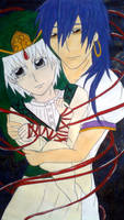 Red String of Fate Series 1. Sinbad+Ja'far /colour