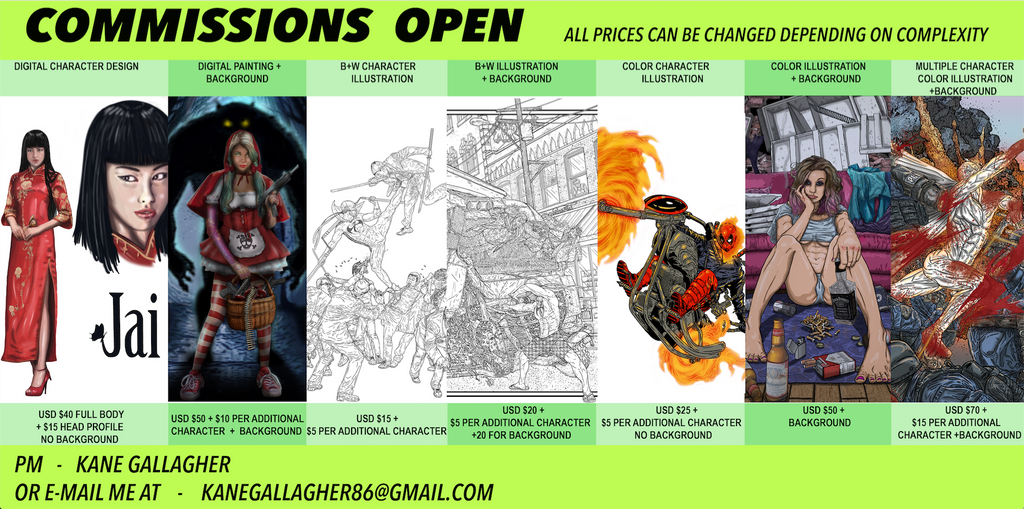 commisions now open by kdogg86
