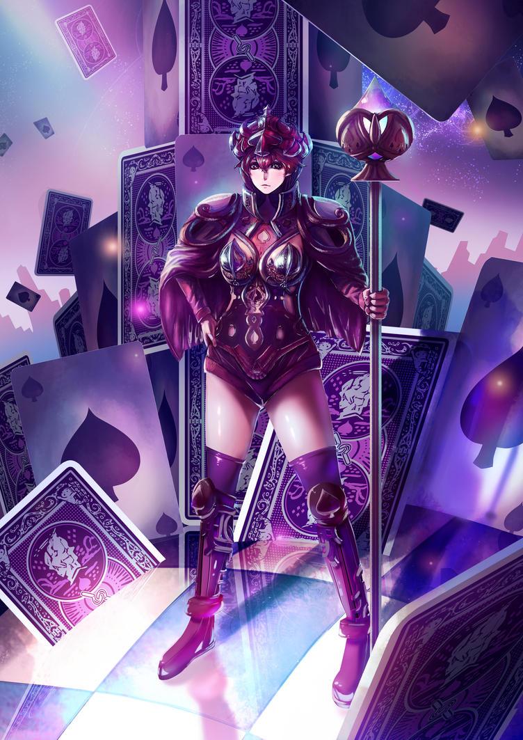 Queen of Spade by CTiahao