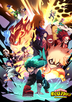 Boku no hero academia by CTiahao