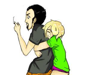 hug by Drweirdenstien