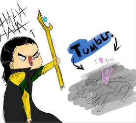 Loki'd by Drweirdenstien
