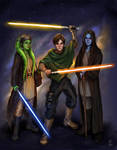 Commission: Star Wars crew for Momento