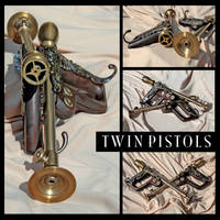 Twin Pistols by GeneralArmories